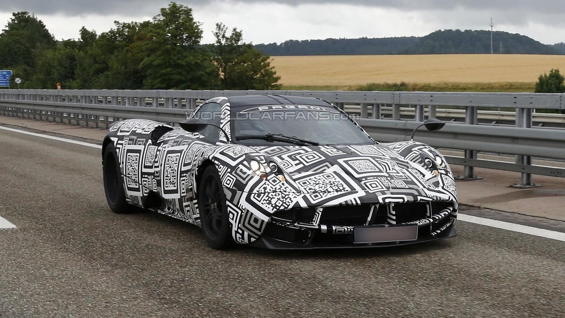 Possible Pagani Huayra SE spied for the first time