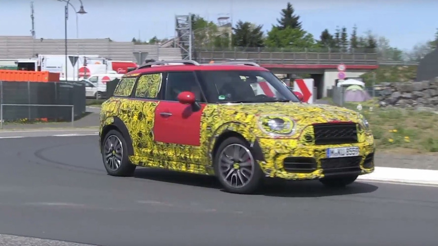 2018 Countryman is anything but Mini at the Ring
