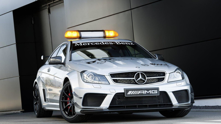 Mercedes C63 AMG Coupe Black Series announced as new DTM Safety Car