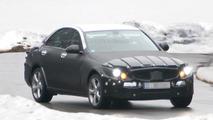 2014 Mercedes C-Class full body prototype first spy photos