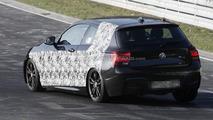 BMW M135i spied at Nurburgring 28.03.2012