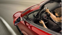 McLaren MP4-12C Spider officially announced & teased