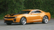 Updated Bumblebee & Mystery Supercar for Transformers Sequel