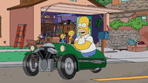 Watch Homer Simpson sell a Morgan to Jay Leno