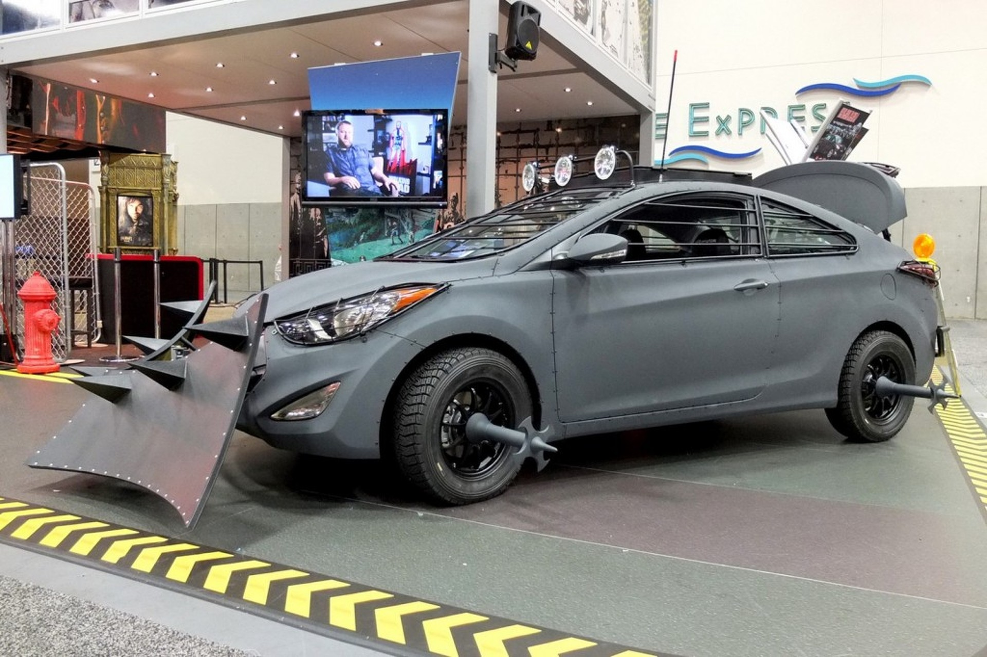 Undead: Hyundai Zombie-Proofs the Elantra Coupe for Comic-Con