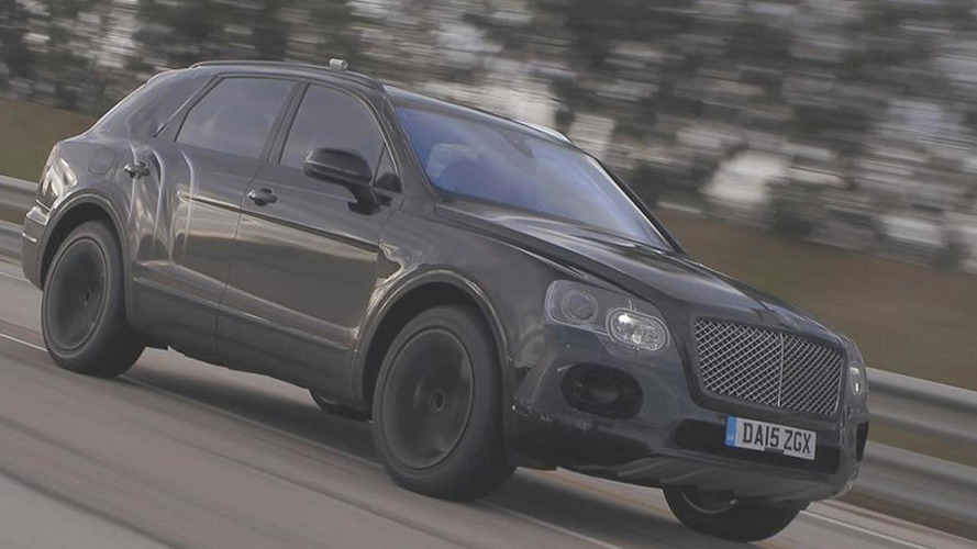 Bentley shows the W12-powered Bentayga hitting 301 km/h [video]