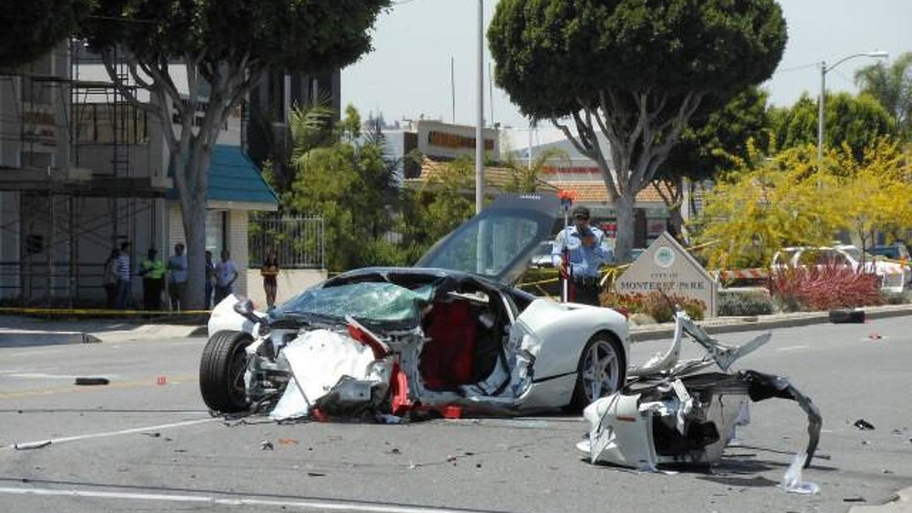 Ferrari 458 Italia driver killed