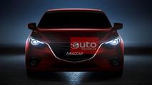 2014 Mazda3 fully leaked
