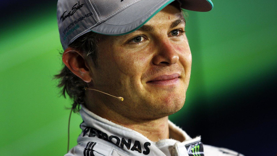 Rosberg unmoved by Schumacher jibe