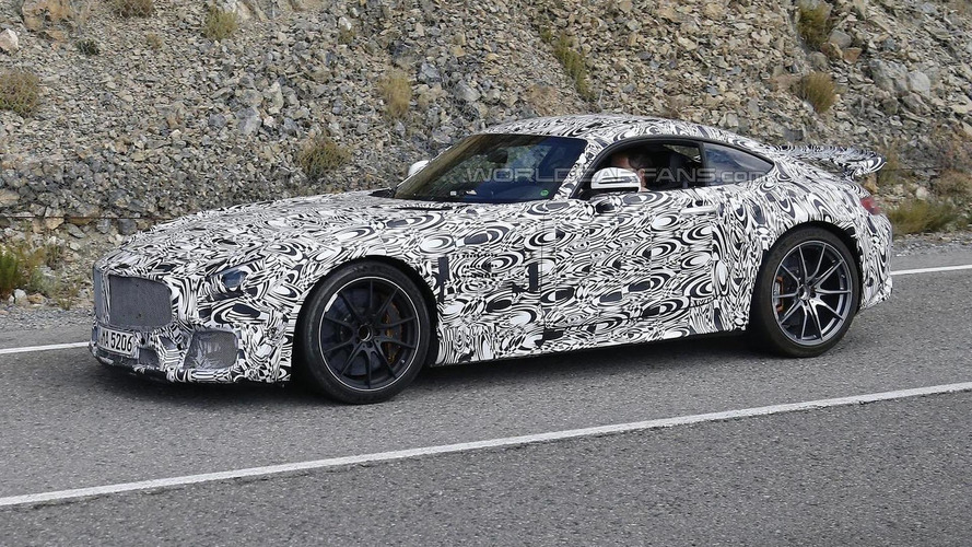 Mercedes-AMG GT R believed to come out late 2016 with more power, less weight