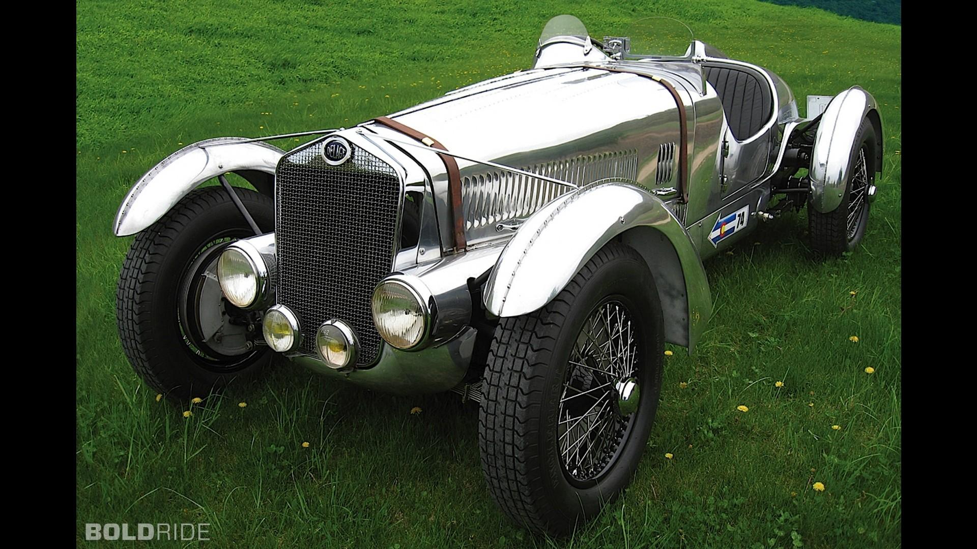 Delage D6-3L Grand Prix Race Car