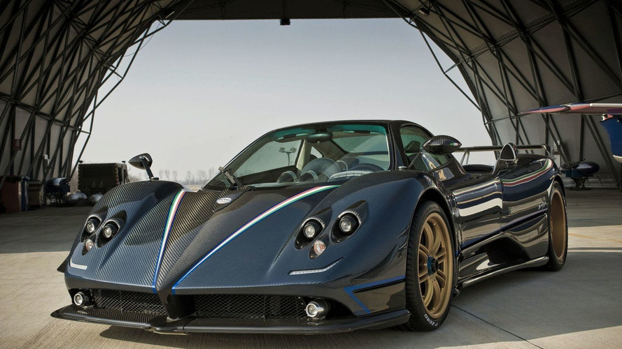 One-Off Pagani Zonda Tricolore Announced for Geneva Debut