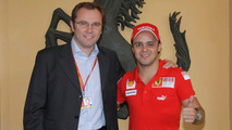 Ferrari confirms Massa to test on Monday