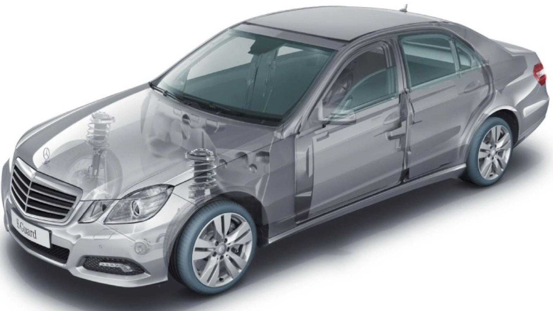 New 2010 Mercedes-Benz E-Class Guard Model Announced
