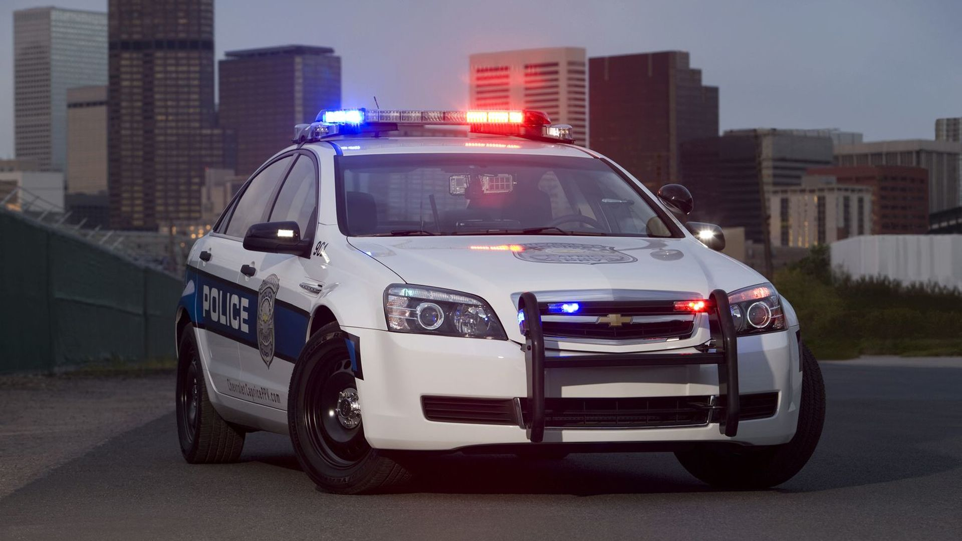 Chevrolet Police Car Returns for More Action