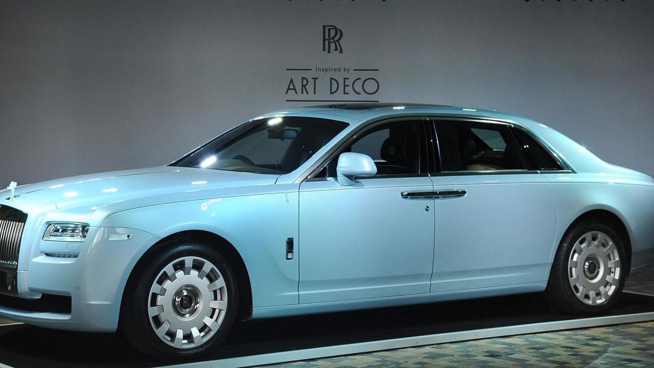 Rolls-Royce Ghost Extended Wheelbase Art Deco Edition 03.4.2013