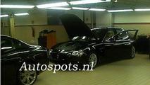 Maserati Quattroporte Facelift spy photos