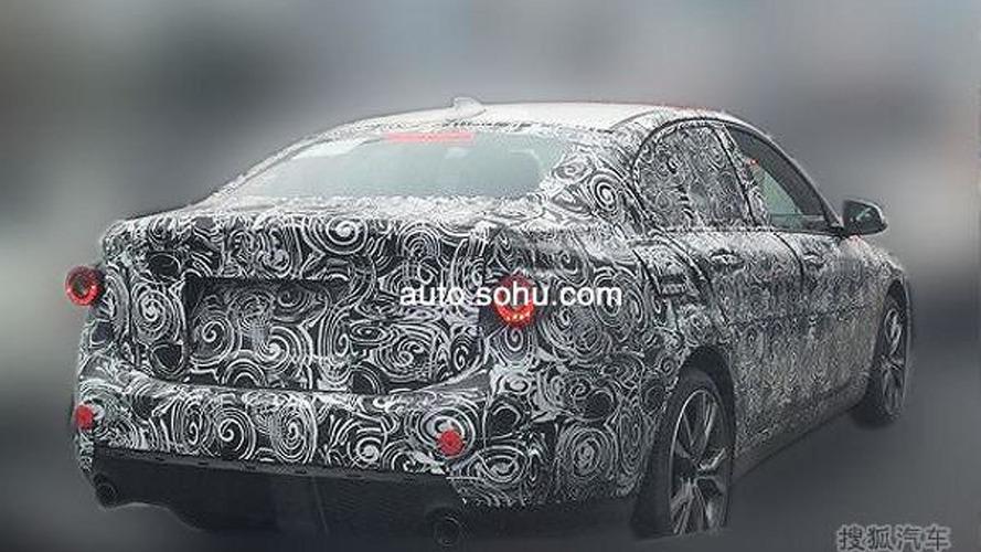 BMW 1-Series Sedan spied testing in China