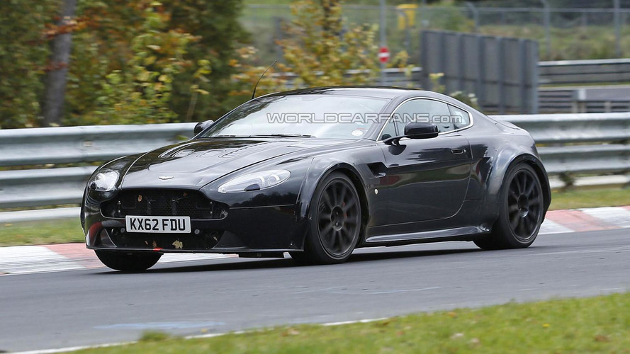Mysterious Aston Martin Vantage prototype spied, is it a mule for the next-generation model?