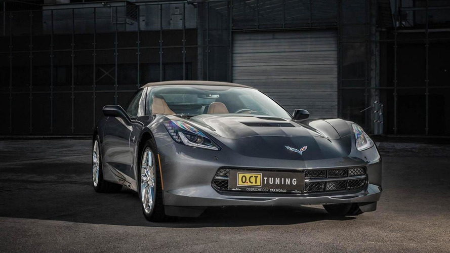Chevrolet Corvette Stingray Convertible upgraded by O.CT Tuning to 621 bhp