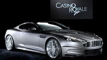 Aston Martin Reveals James Bond's DBS for