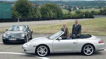 German CDU Politicians Check Out the New Porsche 911