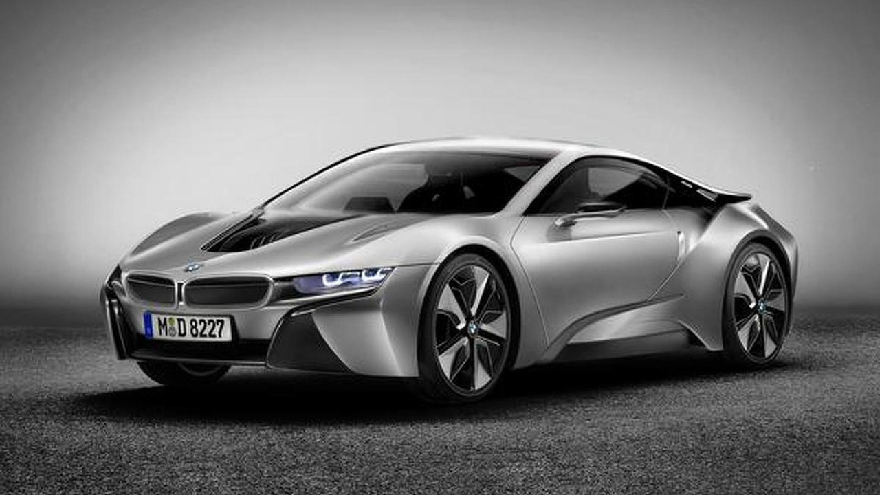 BMW i8 production version artist rendering