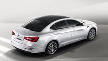 2013 Kia Cadenza (K7) facelift revealed
