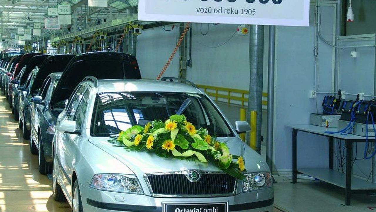 Skoda produces it's 10 000 000th Vehicle