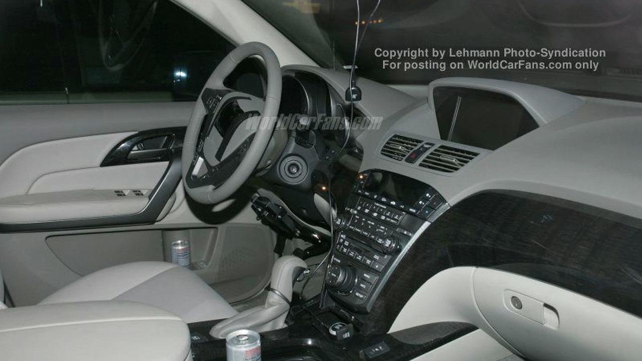 Spy Photos: Acura MDX - Interior