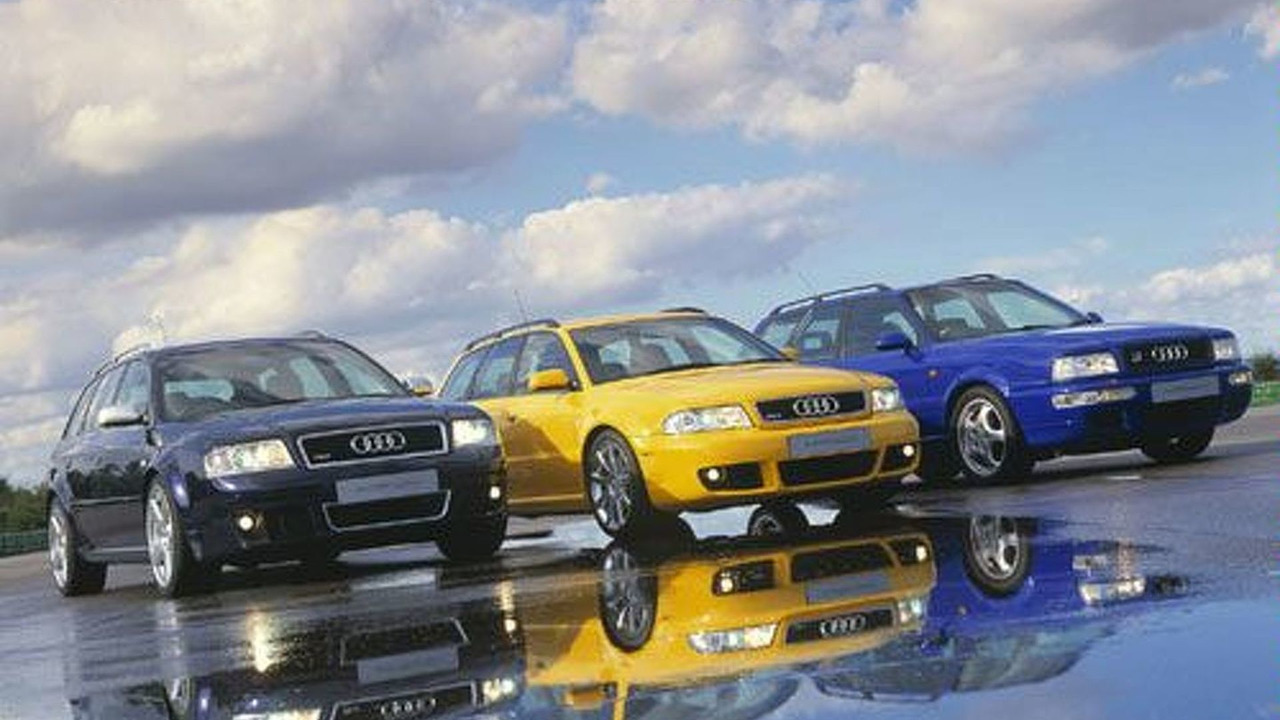 Audi RS6, RS4, RS2