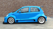 550hp Chevrolet Matiz Unleashed By Car Enthusiasts