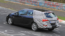 2011 Opel Astra Sports Tourer Spied on the Nurburgring Nordschleife