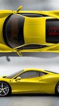 Ferrari 458 Italia - Giallo
