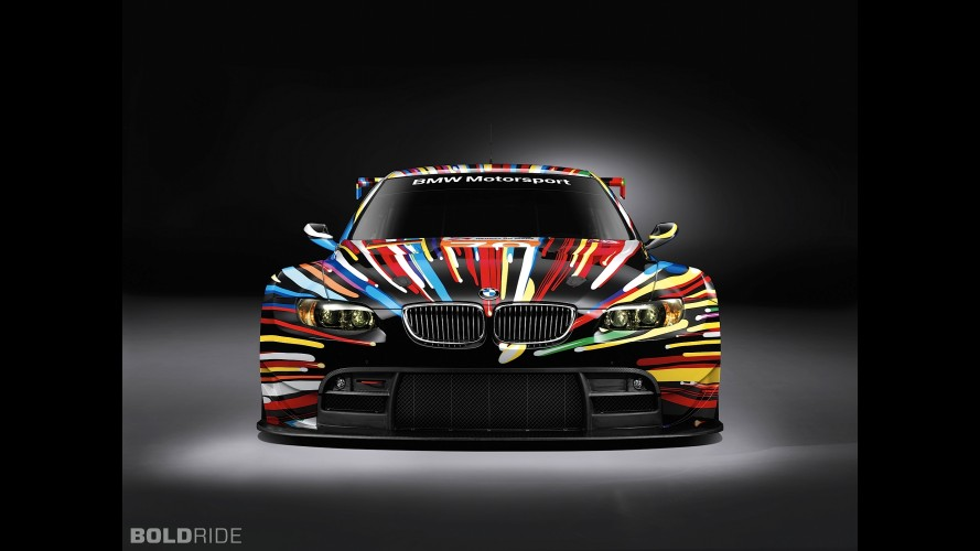 BMW M3 GT2 Jeff Koons Art Car
