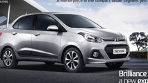 Hyundai Xcent unveiled in New Delhi