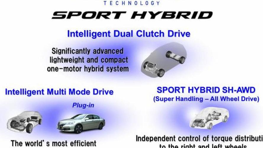 Honda introduces their Sport Hybrid systems