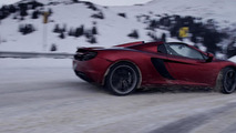 McLaren 12C Spider at Loveland Pass 20.3.2013
