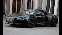Mais agressivo e potente: Audi R8 Hyper Black