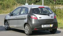 SPY PHOTOS: Mazda2