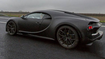 Bugatti Chrion spy photo