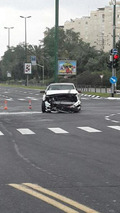 Mercedes-Benz A45 AMG Edition 1 accident in Israel