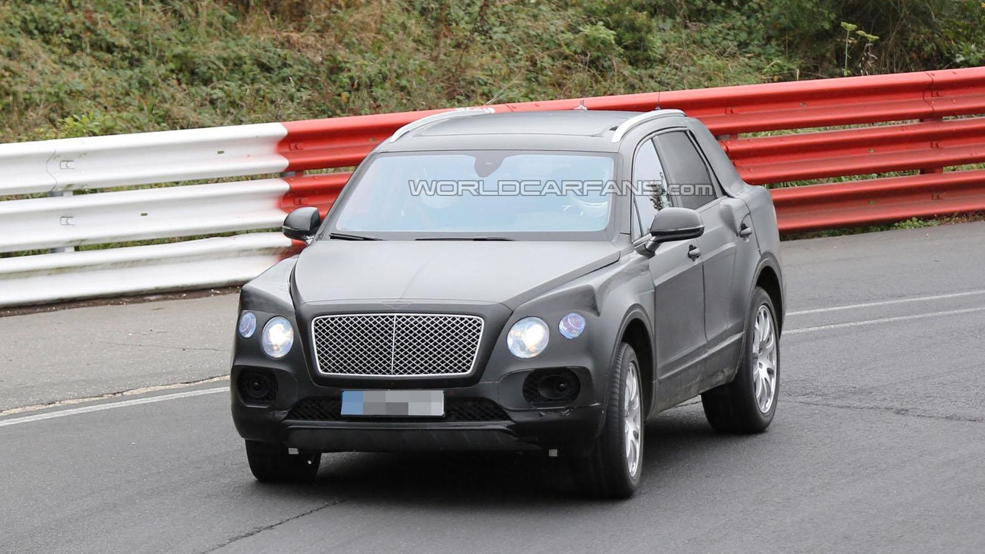 Bentley crossover could wear the Bentayga nameplate
