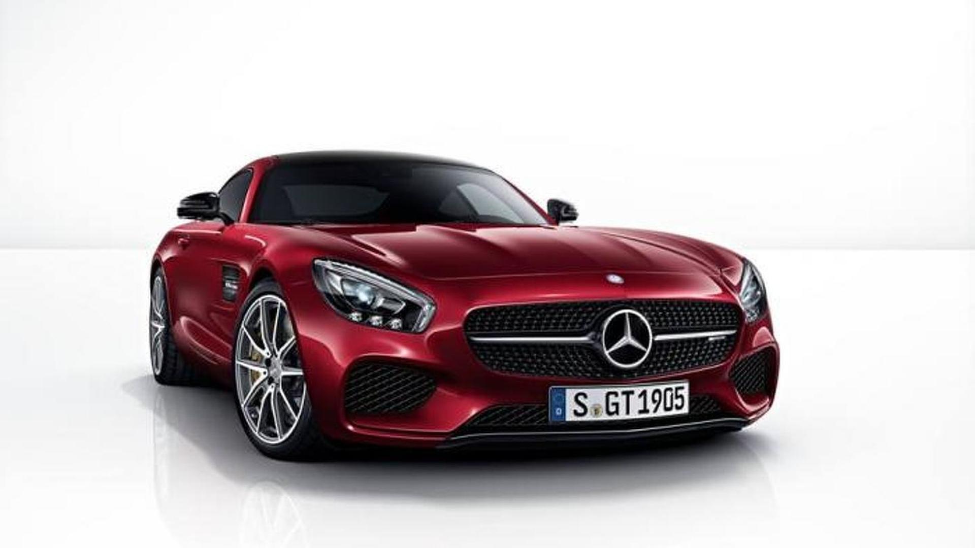 Mercedes shows off the AMG GT color palette