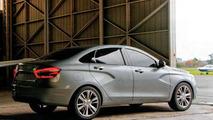Lada Vesta sedan and XRAY 2 concept leaked before launch