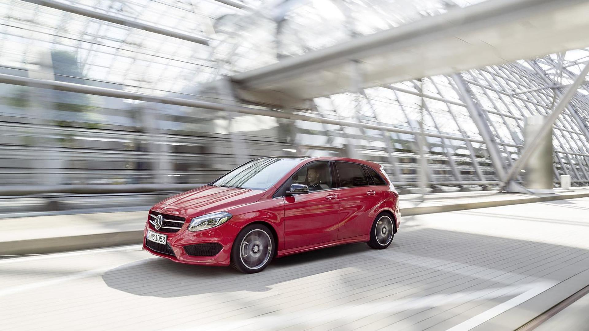 Mercedes-Benz B-Class facelift unveiled with subtle updates
