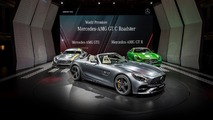 Mercedes-AMG GT, GT C Roadsters unveiled in Paris