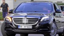 Vidéos - La Mercedes Classe S 2017 restylée surprise en cours d'essais