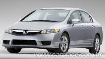 Honda New Civic com leve mudança no visual deve chegar em janeiro de 2009