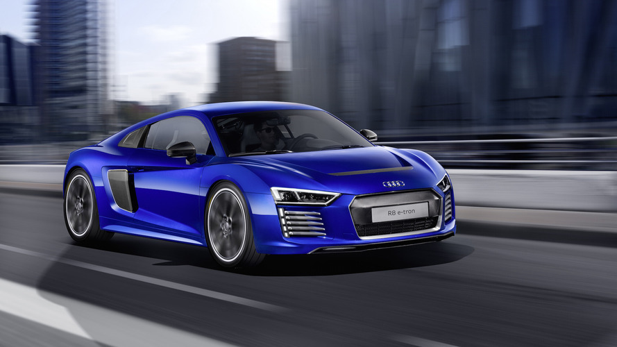 Audi R8 e-tron electric supercar discontinued after less than 100 sales